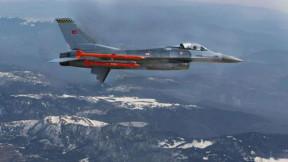 Hava-hava füzesi Bozdoğan'dan hedefe tam isabet