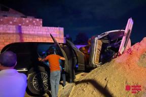 Bakıda sərxoş sürücü 4 nəfərin ölümünə səbəb olub (FOTO - VİDEO)