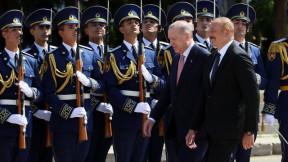 Cumhurbaşkanı Erdoğan Şuşa'da törenle karşılandı